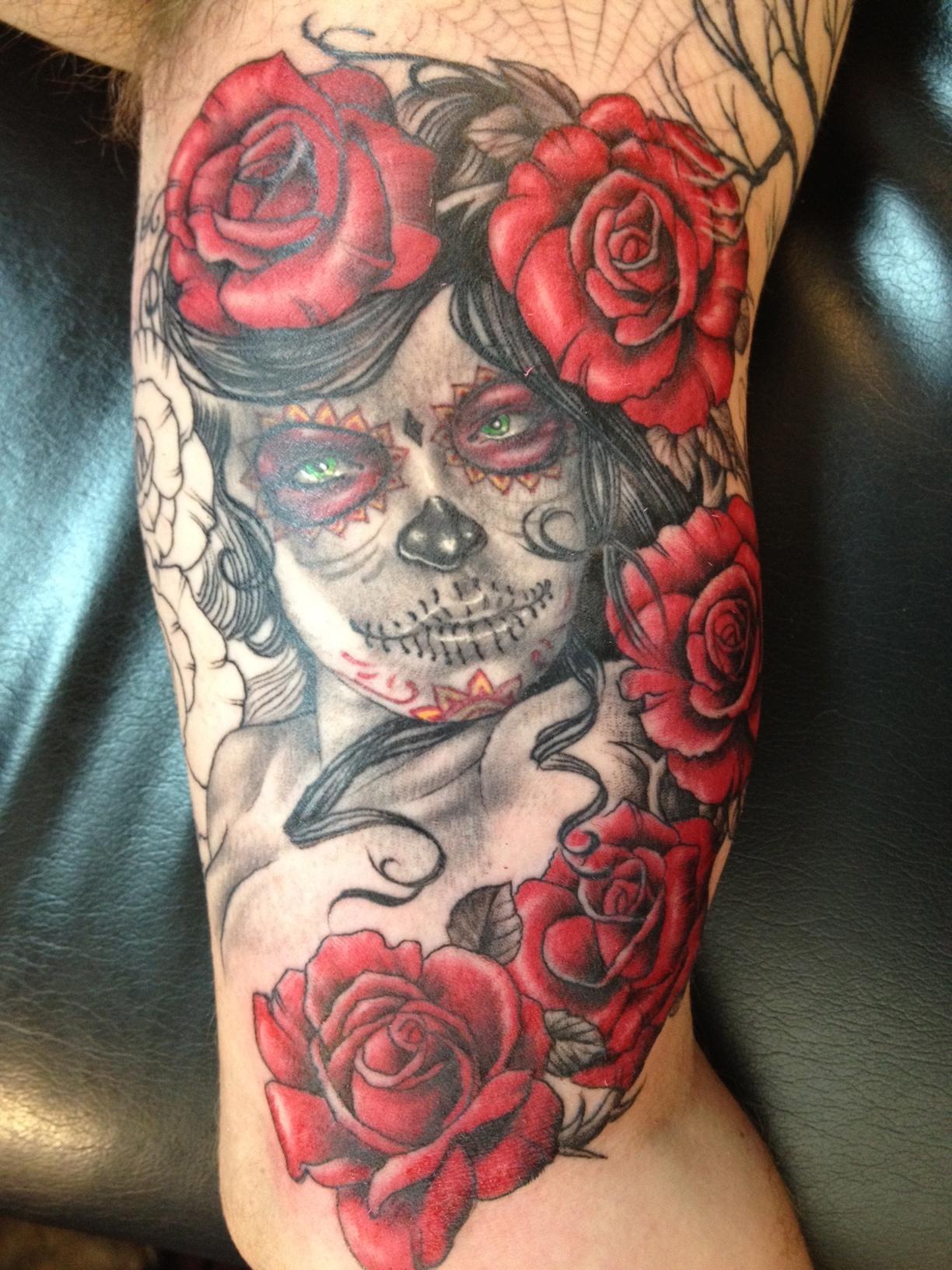 Day Of The Dead Cobra Custom Tattoo