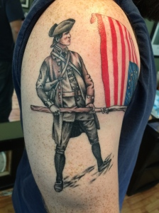 Revolutionary war cobra custom tattoo for American revolutionary war tattoos